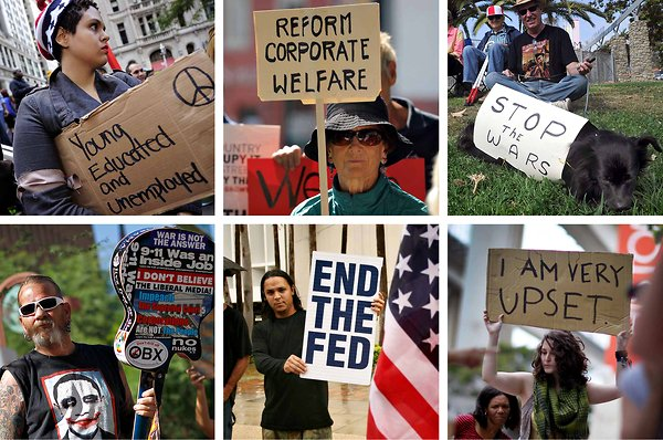 Occupy Wall Street - what is the argument?