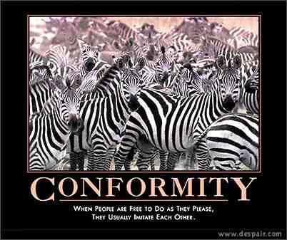 the conundrum of conformity